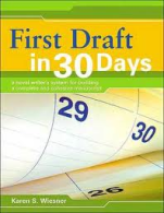 """First Draft in 30 Days"""
